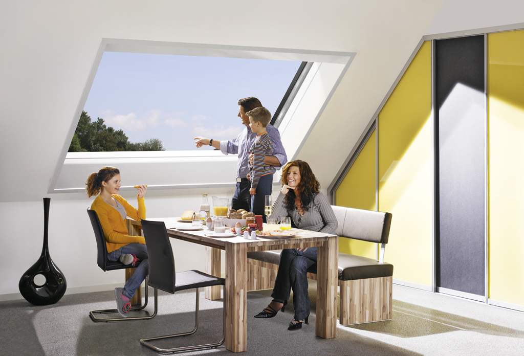 sch co fenstersysteme dachfenster. Black Bedroom Furniture Sets. Home Design Ideas